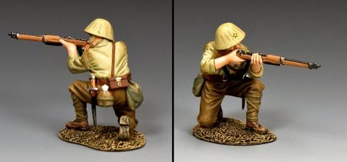 JN051 - Japanese Kneeling Firing Rifleman