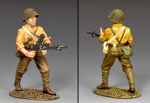 JN053 - Japanese Advancing Machine Gunner