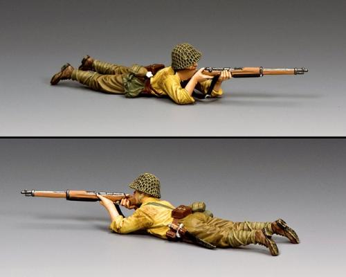 JN057 - Japanese Lying Prone Rifleman