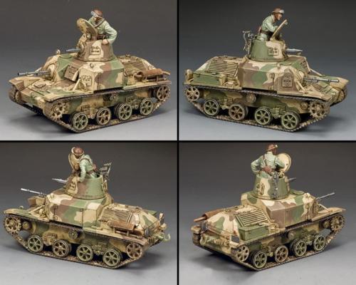 JN059 - Type 92 Jyu Sokosha Tankette - disponible fin août
