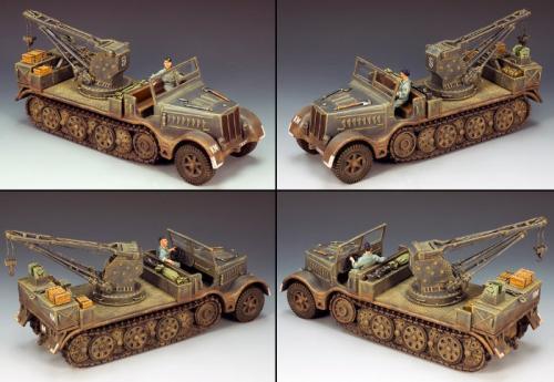 KM017 - Sd. Kfz. 9 Famo Recovery Vehicle