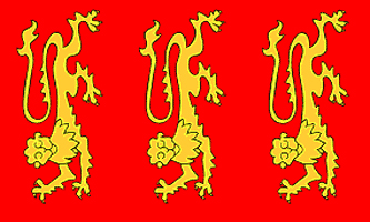 King Richard I Flag - Drapeau du Roi Richard Cœur de Lion (1157-1199)