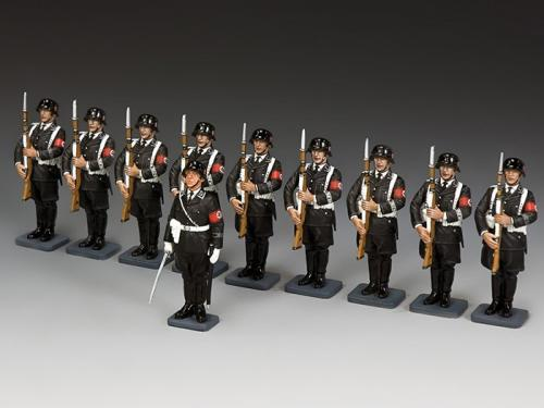 LAH-S03 - Leibstandarte on parade set N° 2 - disponible début juillet