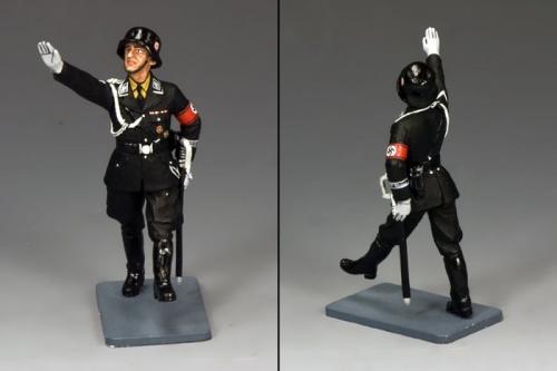LAH176 - SS Officer Saluting