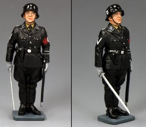 LAH189 - SS Officer at Attention