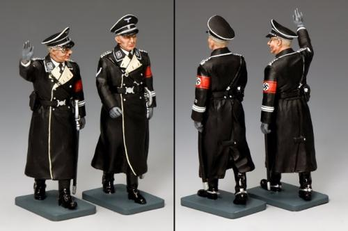 LAH197 - Himmler and Heydrich ... The Deadly Duo (black version)