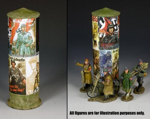 LAH235 - Tall Poster Column (Late War)