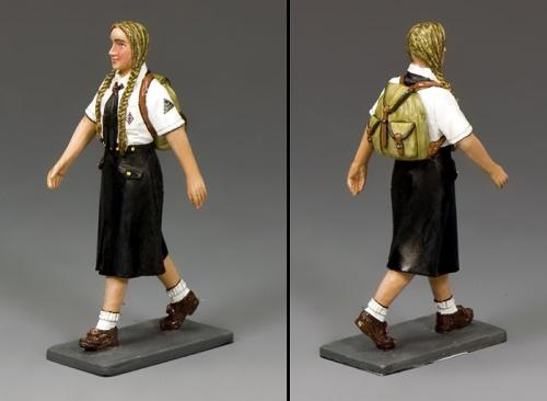 LAH241 - Marching BDM Girl with Backpack (Blondinette)