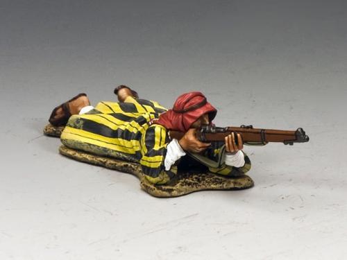 LOA007 - Lying Prone Arab