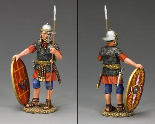 LOJ034 - Auxiliary with Shield and Spear