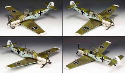 LW045 - Franz von Werra's Me 109