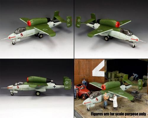 LW057 - The Heinkel 162 Salamander (250 Produced)