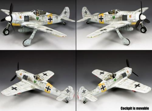 LW062 - Plane FW 190 (Winter Version) - édition limitée à 250 exemplaires