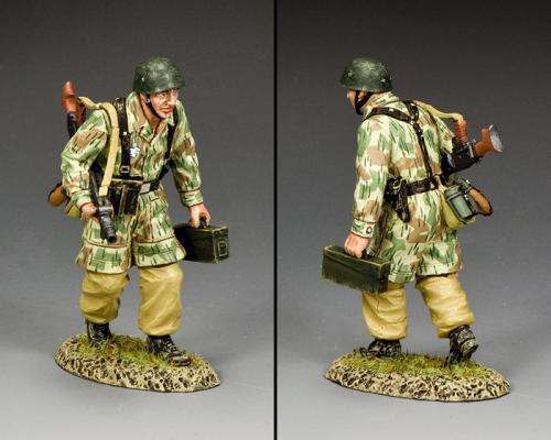 LW070 - Fallschirmjäger MG42 Machine Gunner - disponible début janvier
