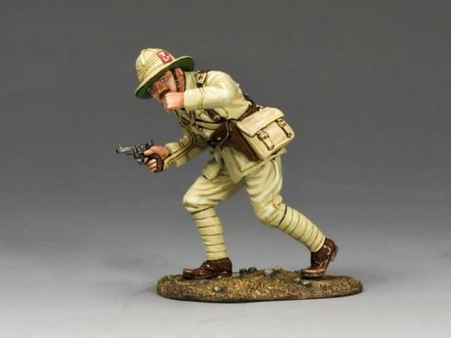 ME001 - Officer with Pistol  Whistle (Lancashire Fusiliers, Middle East Campaign)