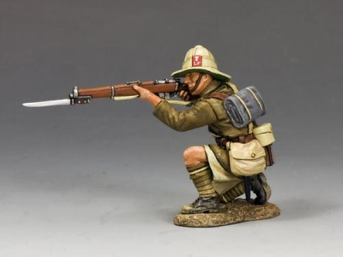 ME002 - Kneeling Firing Rifle (Lancashire Fusiliers, Middle East Campaign)