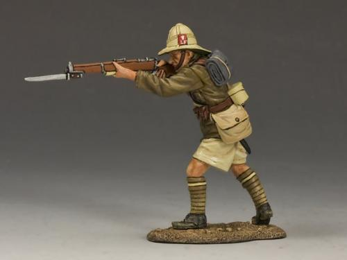 ME003 - Standing Firing Rifle (Lancashire Fusiliers, Middle East Campaign)
