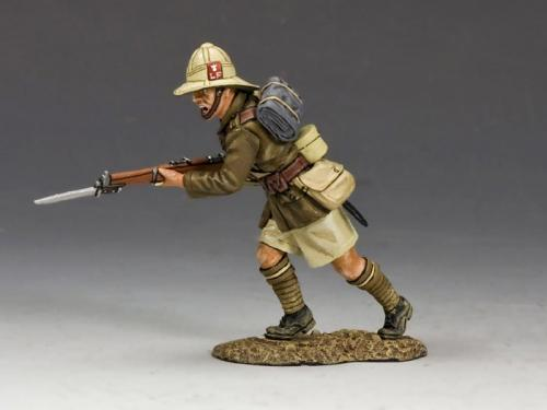 ME004 - Charging (Lancashire Fusiliers, Middle East Campaign)
