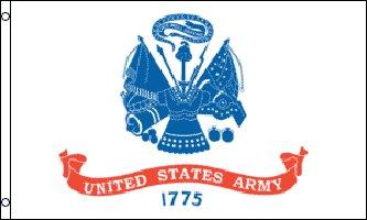 MF002 - United States Army Flag - Drapeau de l'armée américaine