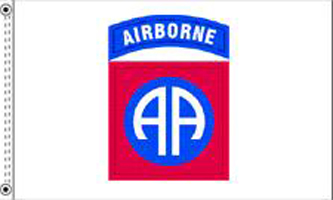 MF030 - 82nd Airborne Division Flag - Drapeau de la 82ème Airborne Division