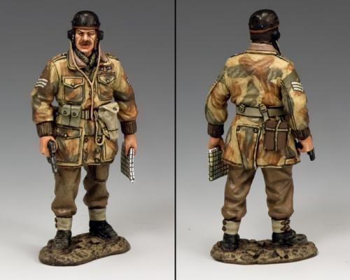 """MG061(P) - """"Sergeant Jim Sharrock"""" Glider Pilot Regiment"""