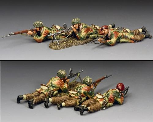 MG080 - The Bren Gun Section (set of 3 soldiers)