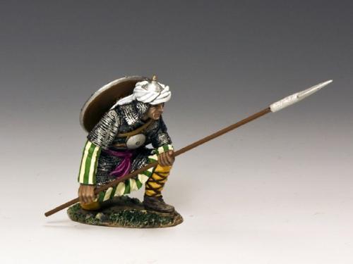 MK101 - Kneeling Saracen Spearman
