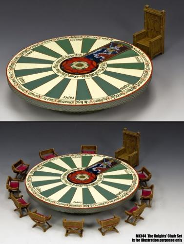 MK143 - The Round Table and The King s Chair