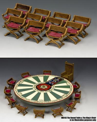 MK144 - The Knights Chair Set