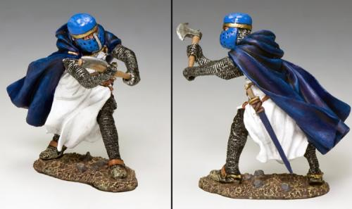 MK161 - The Blue Knight with Axe