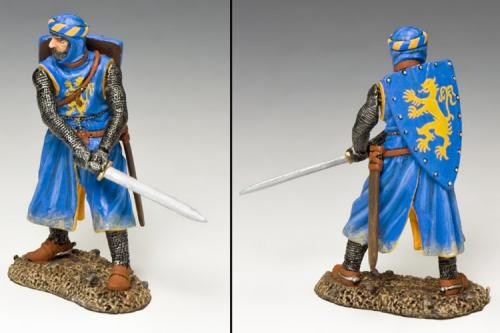 MK162 - Chevalier de Bleu with Sword
