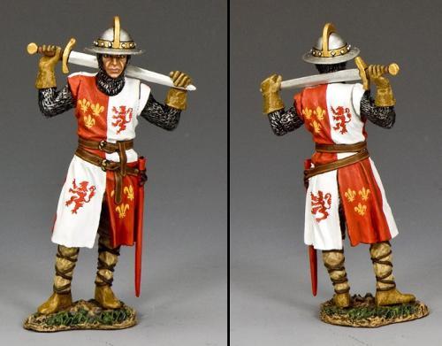 MK167- Knight Standing Ready