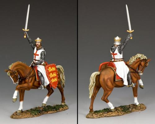 MK173 - Richard the Lionheart (Mounted)