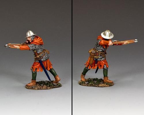 MK186 - Hospitaller Crossbowman Firing