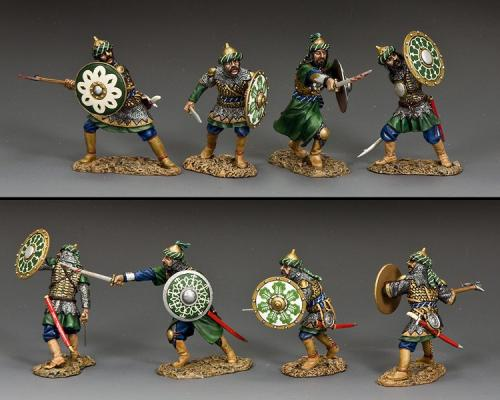 MK201 - The Fighting Saracens (set of four figures)