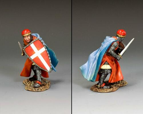 MK214 - Crouching Crusader Knight with Sword - disponible début septembre