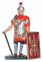 Roman Centurion Standing - pas de stock