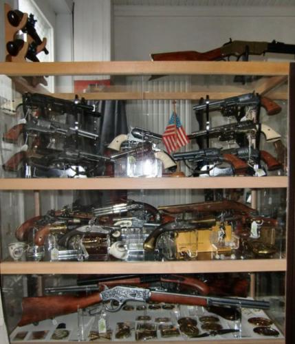 Magasin - les armes de panoplie de DENIX