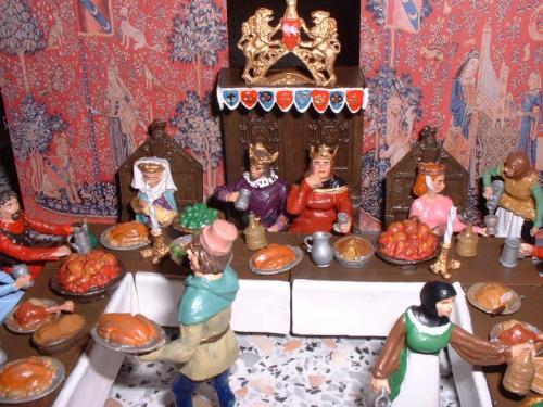 Middel Ages le banquet vue 1 - pas en stock