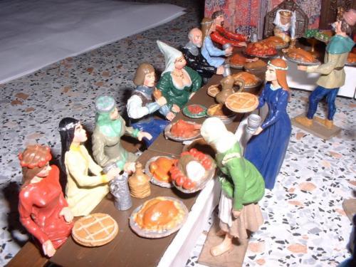 Middel Ages le banquet vue 2 - pas en stock
