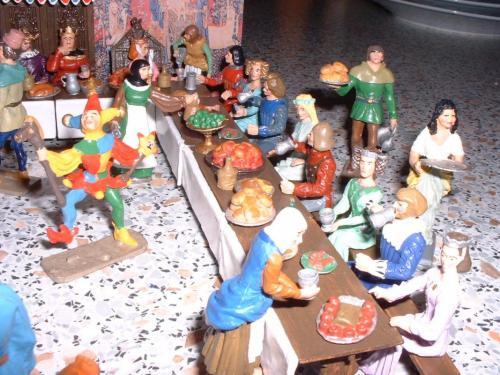 Middel Ages  le banquet vue 3 - pas en stock