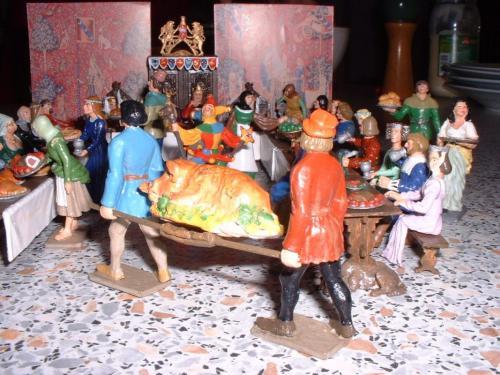 Middel Ages le banquet vue 4 - pas en stock
