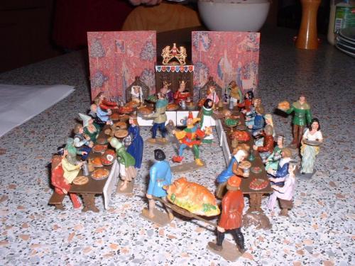Middel Ages le banquet vue 5 - pas en stock