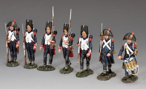 NA-S05 - The Old Guard Marching Set (7 figures Set)