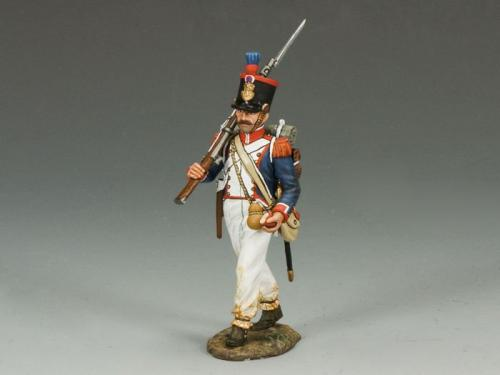 NA232 - French Line Marching Rifleman (right shoulder)