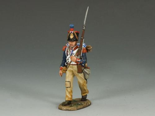 NA233 - French Line Marching Rifleman (left shoulder)