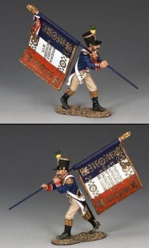 NA274 - French Voltigeur Flagbearer Advancing