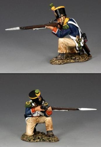 NA278 - French Voltigeur Kneeling Firing