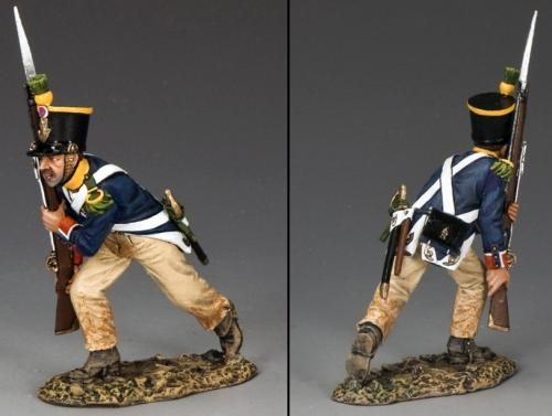 NA281 - French Voltigeur Advancing with Rifle