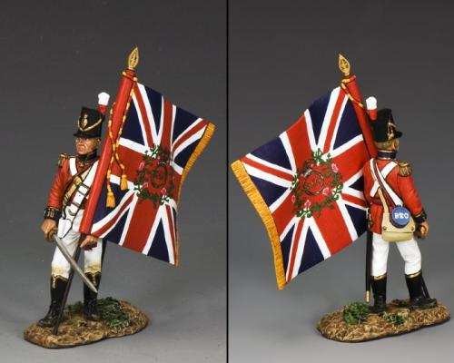 NA283 - British Officer with Flag
